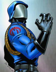 Cobra Commander love old GI joe stuff