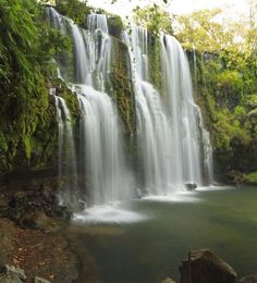 Llano de Cortes Waterfall near Bagaces, gorgeous!