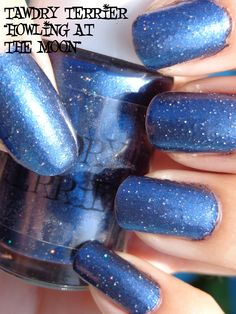 """@Tawdry Terrier """"Howling at the Moon"""" in the sun. Howling at the Moon is from the Autumn in the Barkshires collection and will be available September 1 at http://www.etsy.com/shop/TawdryTerrier. #nailpolish #indienailpolish"""