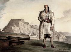 Σουλιώτης στην Κέρκυρα. Ο Νικολός Περβόλης