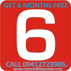 Fin-Year Closing Offer- Get 6 Months Free with 6 Months Subscription. Offer Valid Only Till 31-March-14. Call 09412723905;09359477766. www.commoditiespower.com