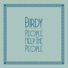 ▶ Birdy - People Help The People [Official Music Video] - YouTube
