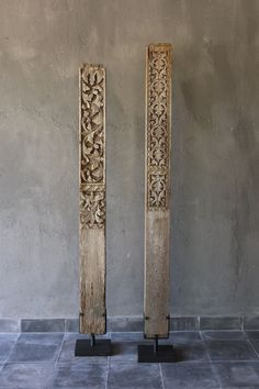 Old Sulawesi Wood Carving