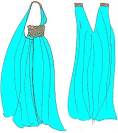 I Do Things I Love: How To Make A Daenerys Qarth Gown