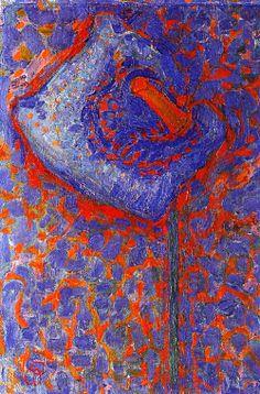 Piet Mondrian. Arum Lily (1910).