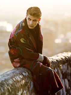 Baptiste Radufe by Yang Wang - Elle Man China Yang Wang, Baptiste Radufe, The Magicians, Male Models, China, Couple Photos, Bespoke, Menswear, Men Models