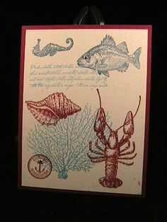 Index Cards - By the Tide by susie nelson - Cards and Paper Crafts at Splitcoaststampers