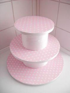 how to make cupcake stand