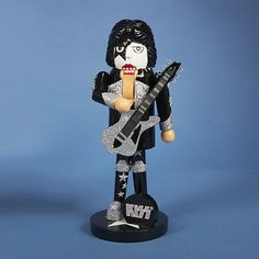 Nutcrackers 177743: 11 Inch Kiss Band Starchild Wooden Christmas Nutcracker -> BUY IT NOW ONLY: $38.59 on eBay!