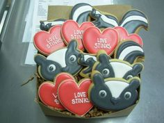 Haha, love these cookies for Girls Movie Night with no romantic movies