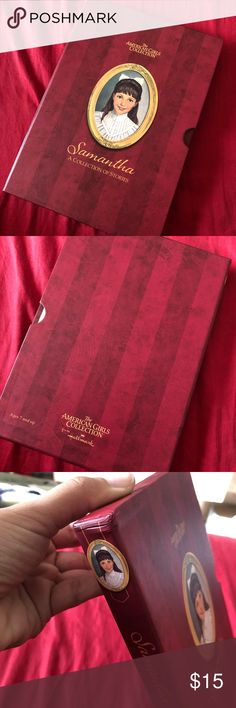 The American Girls Collection Samantha Box Set Preowned all books in excellent collection small dents on box that holds the books Other
