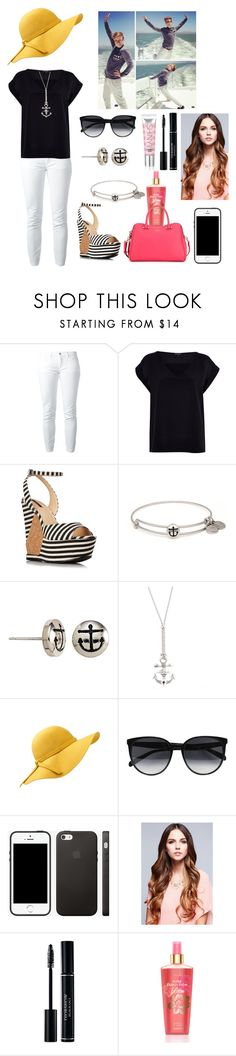 """""""Sailing the Pacific with Tyler Oakley"""" by elise-22 ❤ liked on Polyvore featuring Oakley, Dolce&Gabbana, River Island, Forever 21, Alex and Ani, Vivienne Westwood, CÉLINE, Victoria's Secret and Kate Spade"""