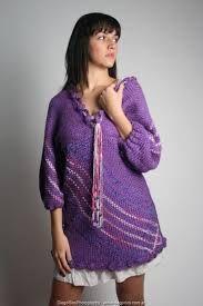 ropa tejida en telar - Buscar con Google Weaving, Sweaters, Dresses, Google, Fashion, Dress, Dressing Rooms, Wraps, Fabrics