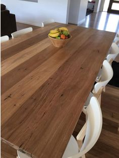 Recycled Messmate industrial dining table made by recycledtimberfurnitureoz.com