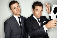 the epic bromance that is Justin Timberlake and Jimmy Fallon.