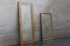 Ethnicraft - Mirror / Light Frame Eg spejl i træ hos BoShop