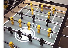 Completed Foosball Table