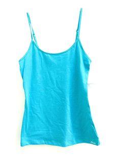 NWT KENSIE Blue Adjustable Spaghetti Strap Camisole Women's Size M Medium #KENSIE