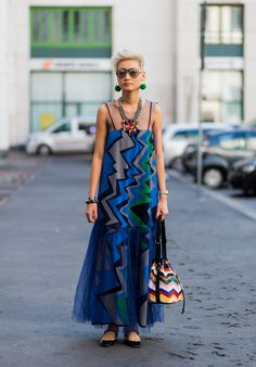 9 Elevated Ways to Style Your Maxi Dress This Summer via @WhoWhatWearAU