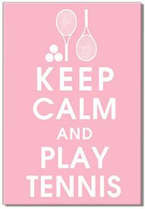 "Pink Tennis is one of my favorites... Keep me out of stress...""Just play Tennis"""
