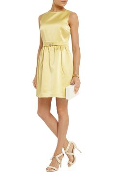 Brandie embellished open-back satin mini dress | FI | THE OUTNET