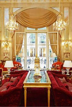 Hotel de Crillon in Paris, France