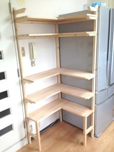 Ideas Diy Home Decor Ideas Projects Bedrooms Storage Shelves, Shelving, Diy Regal, Pantry Labels, Cool Furniture, Diy Home Decor, Kitchen Design, New Homes, Woodworking