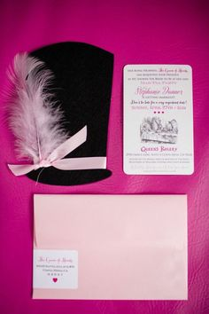 Mad Hatter Bridal Tea Party invitation cards