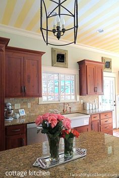 Updated Kitchen Without Painting Cabinets Home Decor Design Ballard Designs