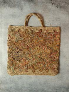Sophie Digard crochet raffia bag