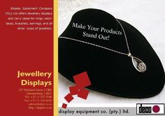 Display Equipment Company (Pty) ltd offers Jewelry displays and carry cases for rings, necklaces, bracelets, earrings, and all other types of jewelry. Black Hills Gold Jewelry, Silver Jewelry, Art And Craft Shows, Wall Accessories, Jewelry Displays, Necklaces, Bracelets, Slat Wall, My Etsy Shop