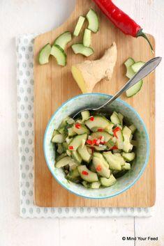 atjar ketimoen Asian Recipes, Healthy Recipes, Ethnic Recipes, Tapas, Indonesian Food, No Cook Meals, Bon Appetit, Pasta Salad, Good Food