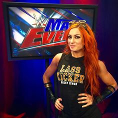 Don't miss @wwebeckylynch on this week's #WWE #MainEvent! The #DivaRevolution continues! #LassKicker