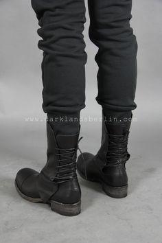 Alexandre Plokhov Back lace tall boot
