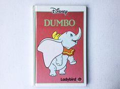 Vintage Disney Dumbo Book Ladybird Books First Edition