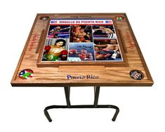Excited to share this item from my #etsy shop: Greatest Puerto Rican Boxers Domino Table