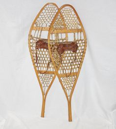 Hey, I found this really awesome Etsy listing at https://www.etsy.com/listing/258006534/vintage-pair-of-canadian-snowshoes-size