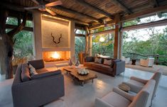 Kapama Private Game Reserve, South Africa. Chic and contemporary, Kapama Karula is a small, intimate safari lodge composed of a series of luxurious tents and exclusive suites.