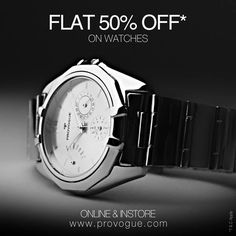 Now wait no more! ‪#‎watches‬ ‪#‎sale‬  Instant Buying- www.provogue.com