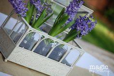 spring flowers for baby shower decor