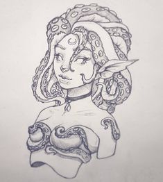 Anthulu New pencil drawing in my sketchbook Fantasy Drawings, Cool Art Drawings, Realistic Drawings, Art Drawings Sketches, Pencil Drawings, Realistic Mermaid Drawing, Creature Drawings, Animal Drawings, Pencil Drawing Tutorials