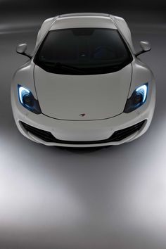 Absolutely perfect in every way... Stunning  white #McLaren MP4-12C. Click on the image to see more drool-worthy cars this #SexySaturday #spon
