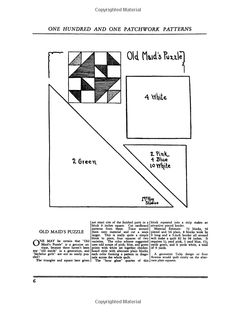 One Hundred and One Patchwork Patterns Dover Quilting: Amazon.co.uk: Ruby Short McKim: Books