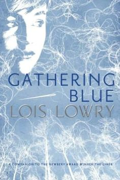 Reading this right now. Gathering Blue (The Giver Series, #2) by Lois Lowry