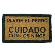 regalos originales, FELPUDO OLVIDE EL PERRO