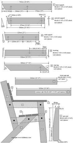 Free garden chair plans page 1 #WoodworkingPlansAdirondack #ChairMadera