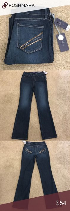 4c2b8aea9f75 Shop Women's NYDJ Blue size 4 Boot Cut at a discounted price at Poshmark.