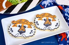 Aubie Sugar Cookies