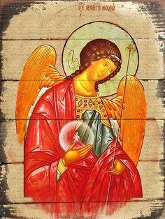Inspirational Icon Archangel Michael Wall Art