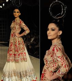 Love SONAM KAPOOR and love the designer she is wearing! Manish Malhotra 2011 wish i was getting married again so i could get this made! :